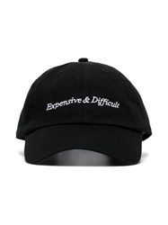 Nasaseasons Black Expensive And Difficult Embroidered Wool Blend Hat