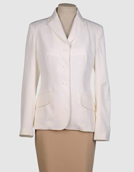Gianfranco Ferre Gf Ferre' Suits And Jackets Blazers Women White