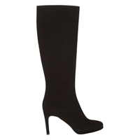 Hobbs Juliet Suede Long Boots Black
