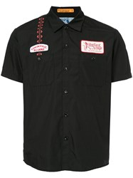 Hysteric Glamour Engineer Shirt Cotton Polyester Black