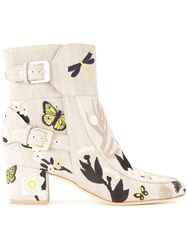 Laurence Dacade Tropical Boots Neutrals