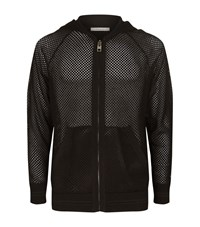Givenchy Mesh Hoodie Male