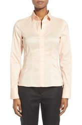 Boss Women's Bashina Cotton Blend Poplin Shirt