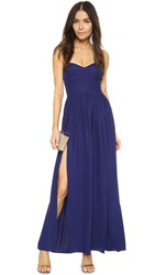 Amanda Uprichard Gisele Dress Navy