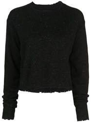 Rta Crew Neck Sweatshirt Black