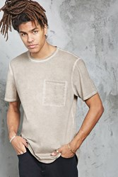 Forever 21 Faded Wash Pocket Tee