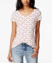 Maison Jules Short Sleeve Swan Print T Shirt Only At Macy's