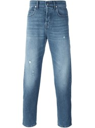 Mcq By Alexander Mcqueen Mcq Alexander Mcqueen Tapered Jeans Blue