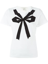 Marc Jacobs Bow Detail T Shirt White