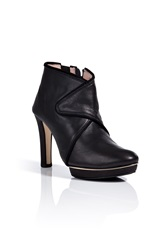 Repetto Agathe Leather Booties Black