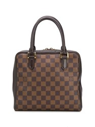 Louis Vuitton 1999 Pre Owned Damier Tote Brown
