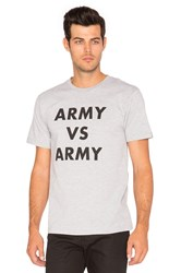 Undefeated Army Vs Army Tee Grey