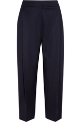J.Crew Collection Cropped Wool Wide Leg Pants