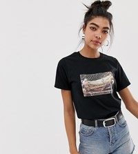 Adolescent Clothing Boyfriend T Shirt With Ready In 5 Print And Slogan Black