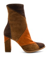 Matisse Jigsaw Booties Brown