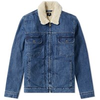 Edwin Panhead Zip Jacket Blue