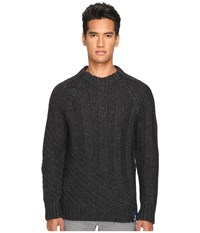 Vivienne Westwood Anglomania Long Ribs Sweater Charcoal Men's Sweater Gray