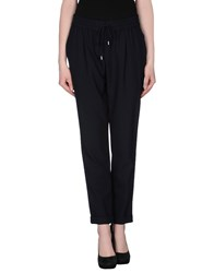 Boss Black Trousers Casual Trousers Women Dark Blue