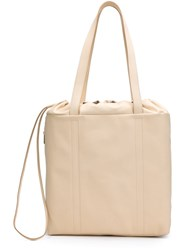 Pb 0110 Drawstring Tote Nude And Neutrals