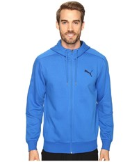 Puma Hero Full Zip Fleece Hoodie Royal Men's Sweatshirt Blue