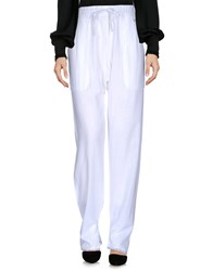 Laurence Dolige Casual Pants White