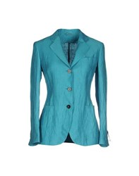 Tonello Suits And Jackets Blazers Women Turquoise