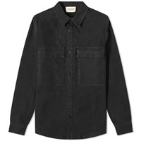 Fear Of God Vintage Cord Shirt Jacket Black