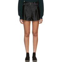 3.1 Phillip Lim Black Origami Shorts