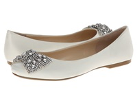 Blue By Betsey Johnson Ever Ivory Satin Women's Bridal Shoes Bone