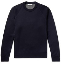 Mr P. Double Faced Knitted Sweater Blue
