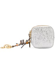 Anya Hindmarch Circulus Coin Purse Women Leather One Size Metallic