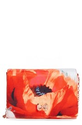 Ted Baker London Playful Poppy Bow Clutch Red Mid Red