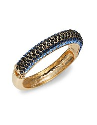 Catherine Stein Glittering Bangle Bracelet Blue