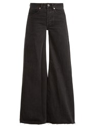 Raey Loon Wide Leg Jeans Black