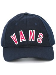 Vans Embroidered Logo Cap Blue