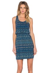 Patagonia West Ashley Dress Blue
