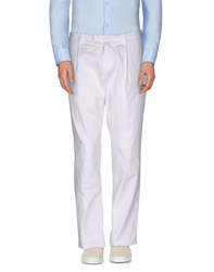 Paolo Pecora Trousers Casual Trousers Men White