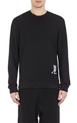 Public School 'Wnl' Embroidered Sweatshirt Black