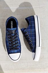Converse Chuck Taylor All Star Plaid Low Top Sneaker Blue Multi