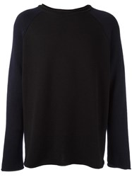 Societe Anonyme Raw Edge 'Big' Jumper Black