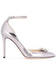 Jimmy Choo Rosa 100 Pumps Metallic