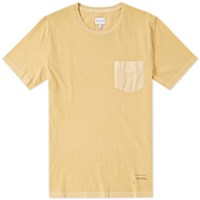 Gant Pocket Tee Yellow