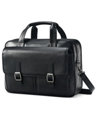 Samsonite Leather 2 Pocket Briefcase