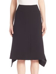 Altuzarra Handkerchief Hem Skirt Black