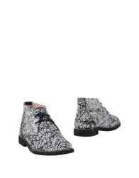 Mysuelly Ankle Boots White