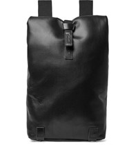 Brooks England Pickwick Perforated Leather Backpack Black