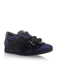 Kurt Geiger London Langham Corsage Sneakers Female Navy