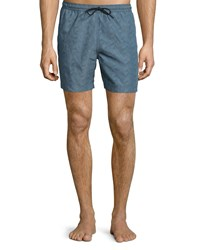 Theory Linewave Printed Swim Trunks Molinas Men's