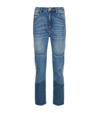 Sandro Misty Star Jeans Female Blue