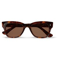 Cutler And Gross D Frame Tortoiseshell Acetate Sunglasses